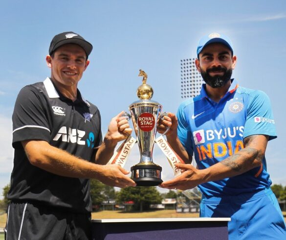 NZ vs IND, 1st ODI: न्यूजीलैंड ने टॉस जीता किया गेंदबाजी का फैसला, टीम इंडिया में इन दो खिलाड़ियों को मिला डेब्यू का मौका 10