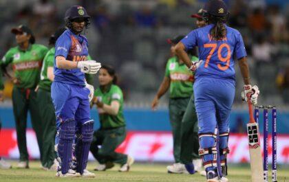 आईसीसी महिला टी-20 विश्व कप : भारत ने बांग्लादेश को 18 रन से हराया, जीत में चमकी ये 2 खिलाड़ी 1
