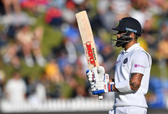NZ vs IND- अपनी एक बड़ी गलती के चलते टीम इंडिया को संकट में डाल गये विराट कोहली, ऐसे गवांई अपनी विकेट 23