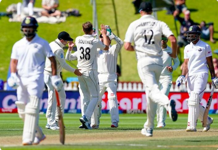 NZ vs IND: कीवी टीम की जीत के नायक टिम साउदी ने बताया कैसे दुनिया की नंबर 1 टीम को हराने में कामयाब हुआ न्यूजीलैंड 1