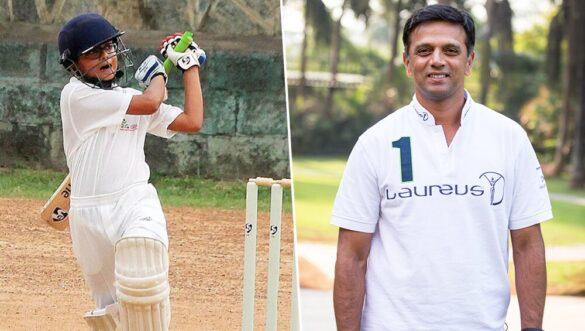 राहुल द्रविड़ के बेटे समित द्रविड़ ने जारी रखा अपना फॉर्म, लगाया एक और शानदार शतक 1