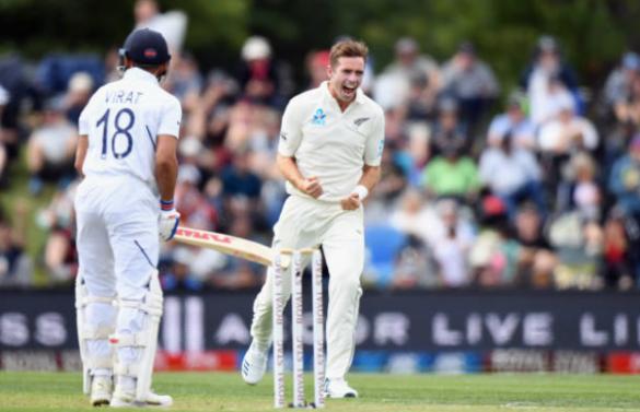NZ vs IND 2nd Test: पहली पारी में टीम इंडिया ने बनाए 242 रन, पहले दिन के अंत में 63 रन पर रही न्यूजीलैंड 9