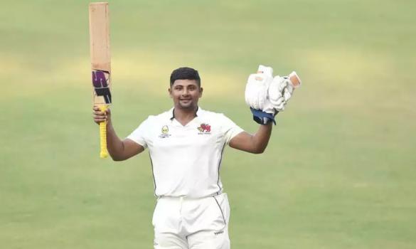605 रन बनाने के बाद पहली बार आउट हुए सरफराज खान, वीवीएस लक्ष्मण को पछाड़ा 12