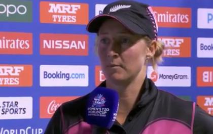 भारत के खिलाफ हार के बावजूद न्यूजीलैंड की कप्तान सोफी डिवाइन ने अपने खिलाड़ियों को सराहा 16