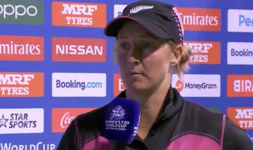 भारत के खिलाफ हार के बावजूद न्यूजीलैंड की कप्तान सोफी डिवाइन ने अपने खिलाड़ियों को सराहा