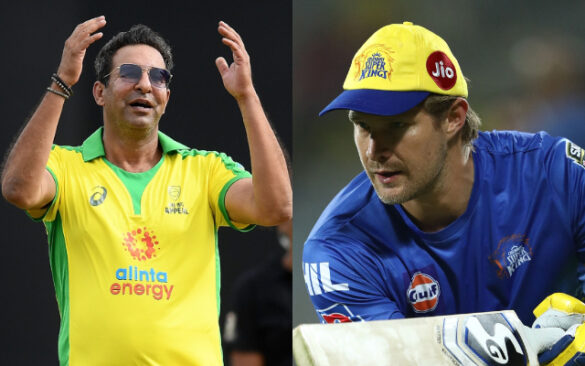 शेन वाटसन ने पाकिस्तान के महान खिलाड़ी वसीम अकरम को माना अपने बचपन का हीरो 1
