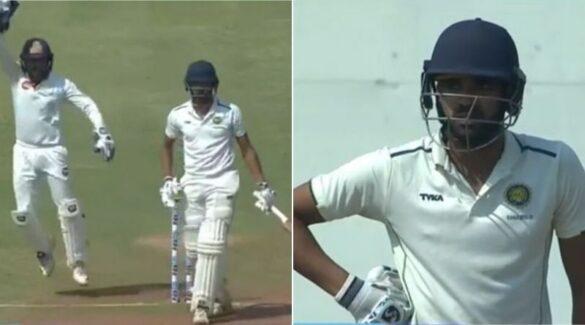 रणजी ट्रॉफी- गोवा और गुजरात के बीच क्वार्टर फाइनल मैच में गोवा के बल्लेबाज के कैच को लेकर विवाद, देखें वीडियो 1