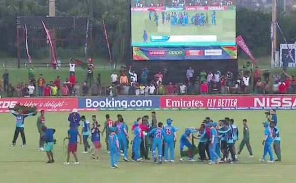 अंडर-19 विश्व कप 2020: बांग्लादेशी खिलाड़ियों ने बताया, जीत के बाद क्यों मनाया ऐसा जश्न की हो गई लड़ाई 1