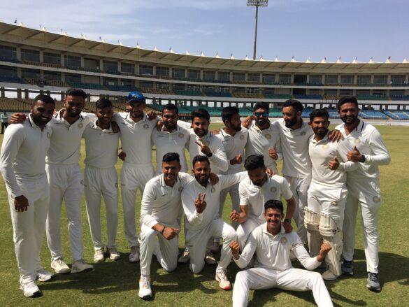 रणजी ट्रॉफी: पहली पारी में बढ़त के बाद ड्रॉ रहे फाइनल में सौराष्ट्र बनी विजेता 5