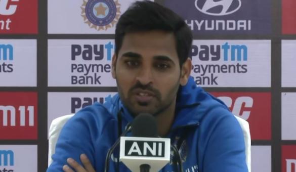 भुवनेश्वर कुमार ने दिए संकेत- धर्मशाला में गेंद चमकाने के लिए लार का इस्तेमाल नहीं करेगी भारतीय टीम 20