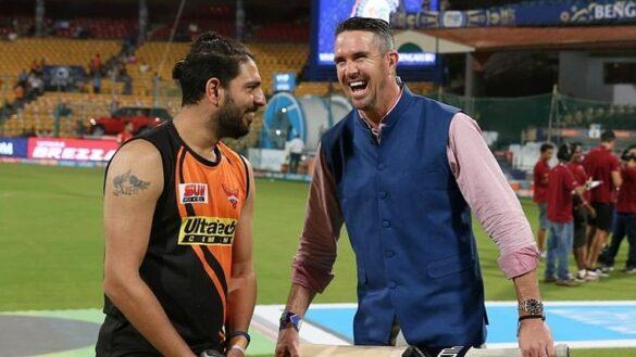 केविन पीटरसन को उनकी ही तस्वीर पर युवराज सिंह ने किया ट्रोल 19