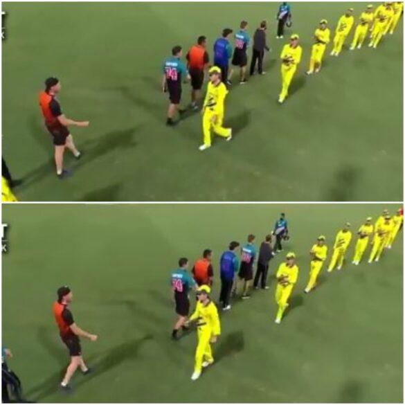 वीडियो : मैच खत्म होने के बाद ऑस्ट्रेलिया-न्यूजीलैंड के खिलाड़ियों ने नहीं मिलाया हाथ 23