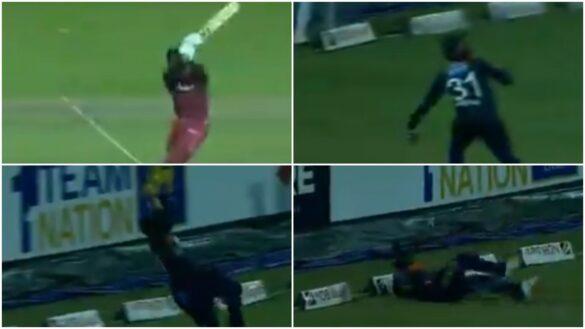 WATCH : श्रीलंका के इस खिलाड़ी ने पकड़ा गजब का कैच, वीडियो देख हर कोई हैरान 8