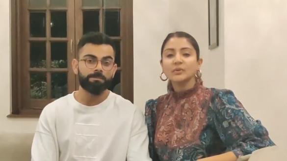 कोरोना वायरस: विराट कोहली और अनुष्का शर्मा ने लोगों को दी खास सलाह, देखें वीडियो 30