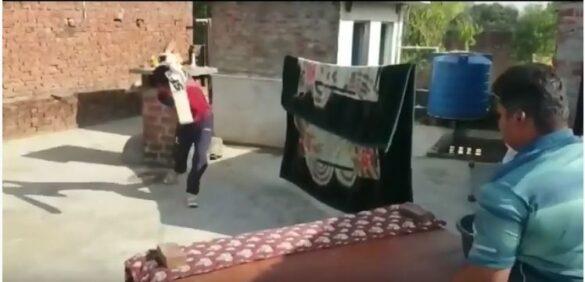 लॉकडाउन में भी ये भारतीय खिलाड़ी कर रहा कुछ विचित्र तरीके से अभ्यास, देखें वीडियो 1