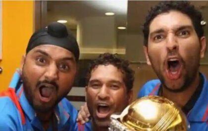 विश्व कप जीतने के बाद सचिन तेंदुलकर ने पहली बार खुलकर किया था डांस : हरभजन सिंह 4