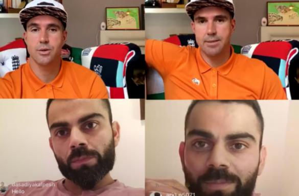 विराट कोहली ने केविन पीटरसन से बातचीत के दौरान बताया, कब लेंगे संन्यास 22